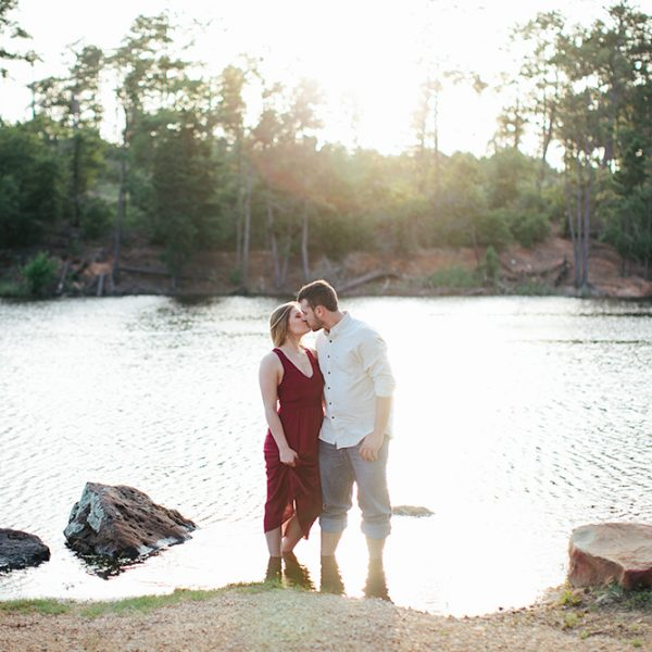 Candace & Will: Bastrop State Park Engagement