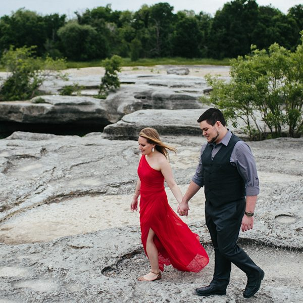 McKinney Falls Engagement Session