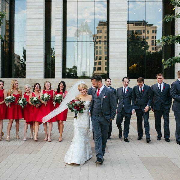 Modern Wedding at the Belmont