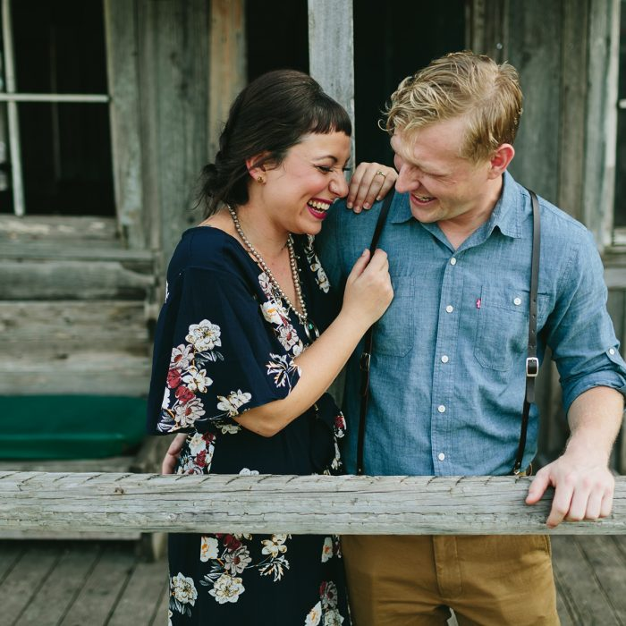 Katie & Travis: Austin Engagement Photography