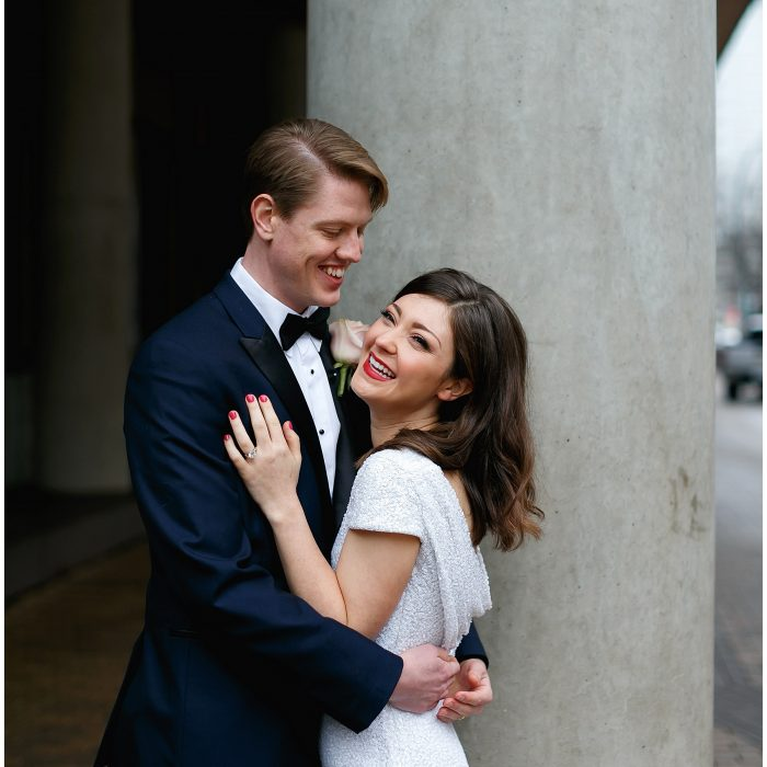 Intimate Austin Courthouse Wedding