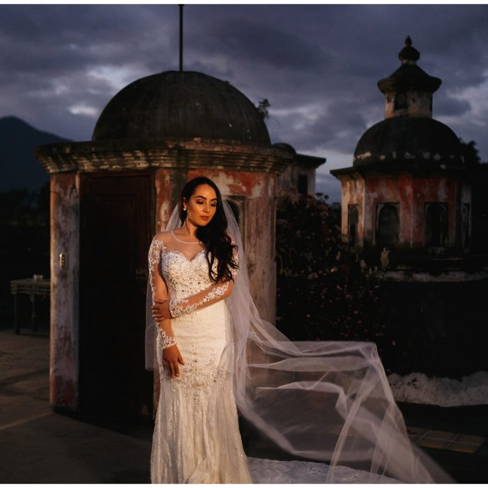 Bridal Boudoir & Portraits at Meson Panza Verde