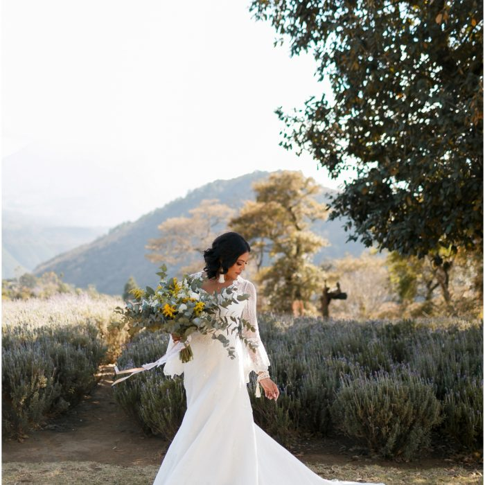 Styled wedding shoot at Jardines de Provenza